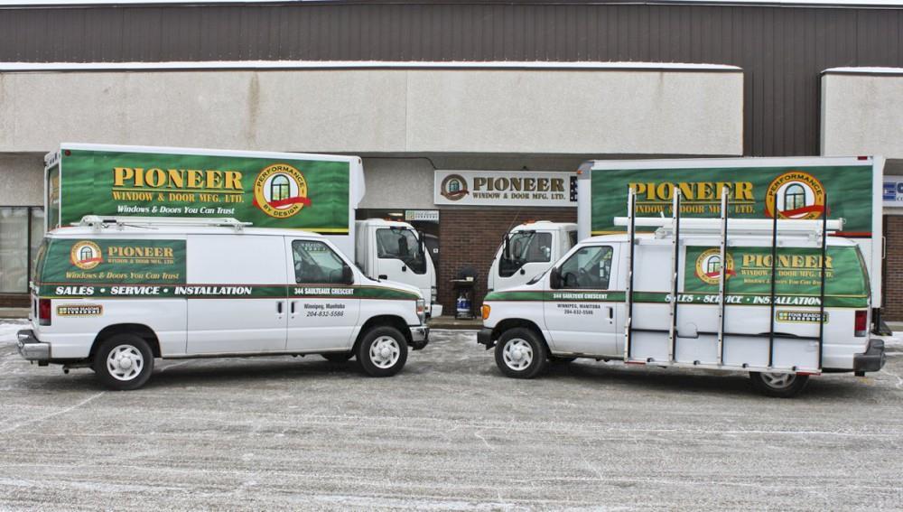 Pioneer Window Amp Door Mfg Ltd In Winnipeg Mb