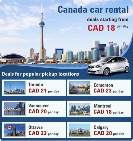 Rental Car Canada >> Car Rental Canada In Toronto On