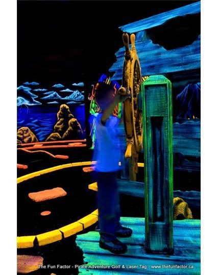 The Fun Factor Fun Centre Pirates Mini Golf Amp Laser Tag